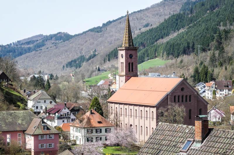 Wandertour Schiltach - Schenkenzell - Blick ins Tal