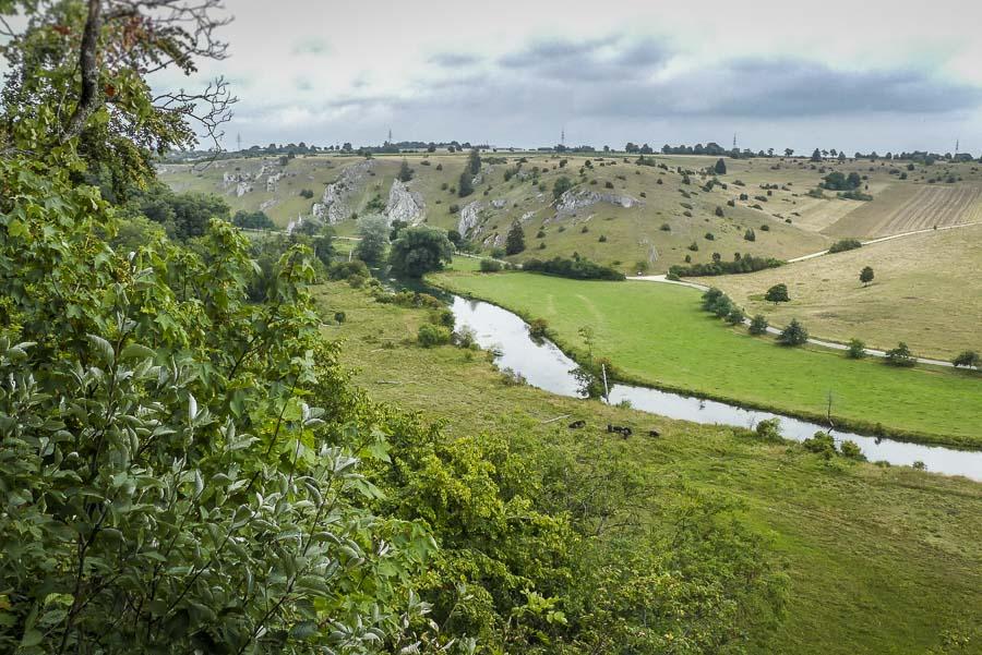 Das Eselsburger Tal - Blick vom Buigenhäuschen aus