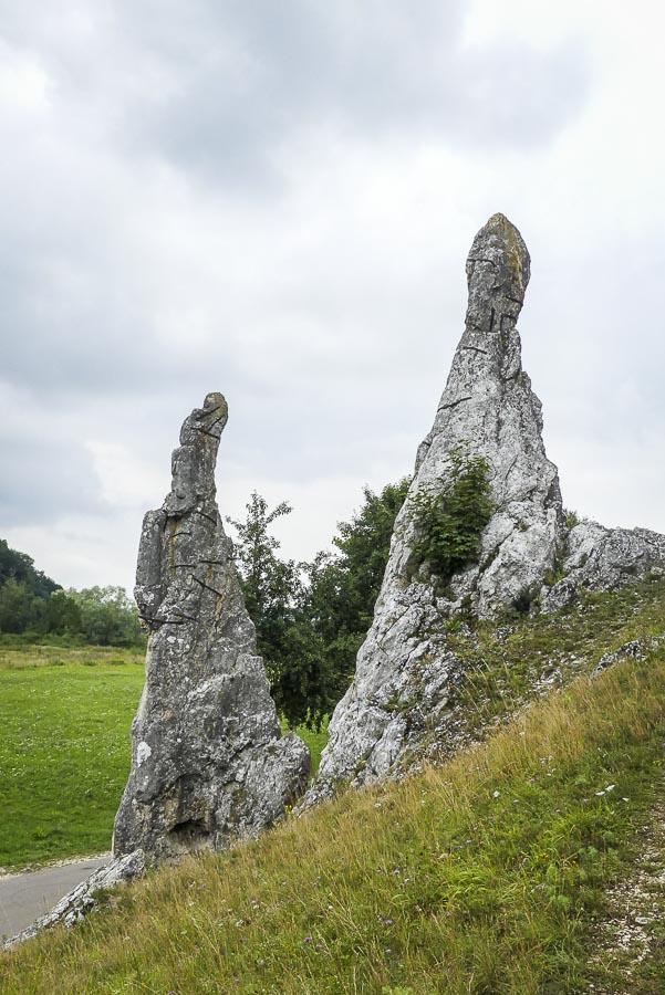 Das Eselsburger Tal - die Brenz im Bogen - die eisernen Jungraufen auf Augenhöhe 2
