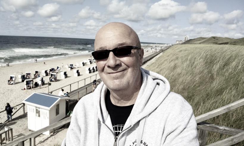 Strandpromenade Westerland auf Sylt - Selfie von einer Düne aus