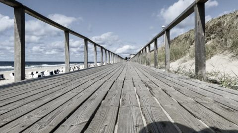 Sylt: ein Spaziergang an der Strandpromenade Westerland entlang