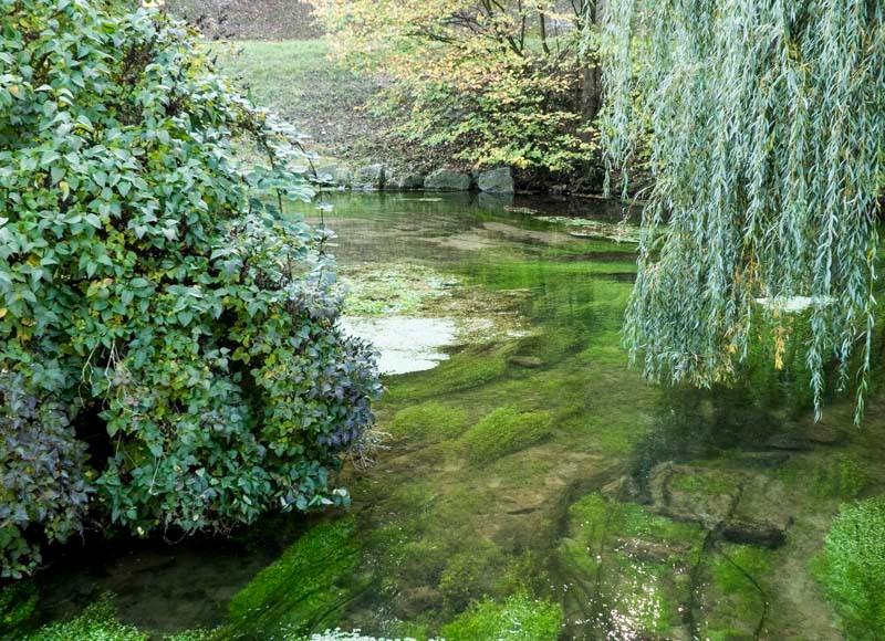 Die-Aachquelle-in-Aach-Donauwasser-fließt-mit