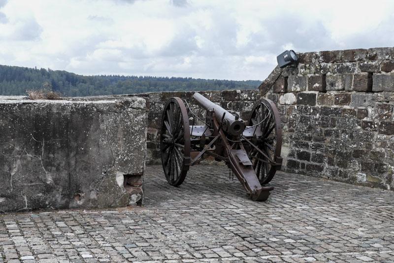 Die Zitadelle von Bitsch - Kanone aus dem Jahr 1870