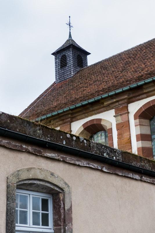Die Zitadelle von Bitsch - die Kapelle auf dem oberen Plateau