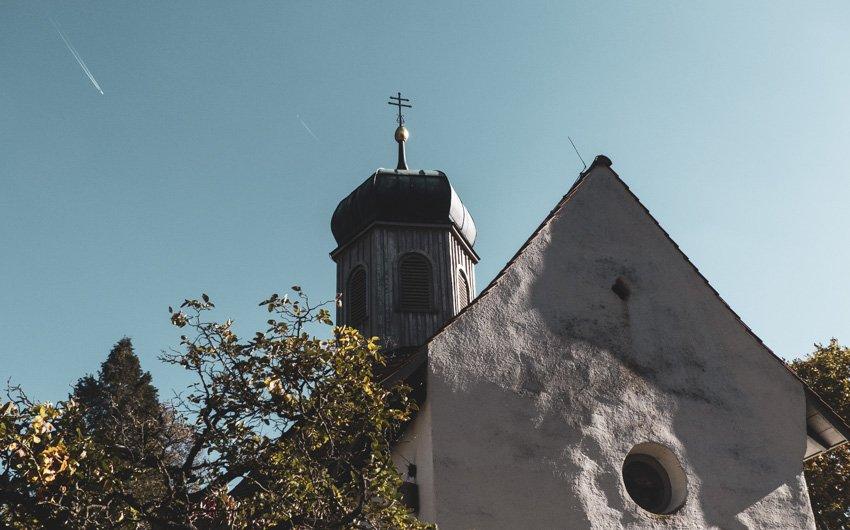 Wanderung Öhningen Wangen bis Stein am Rhein - Kattenhorn St. Blasius Kapelle