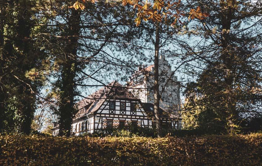 Wanderung Öhningen Wangen bis Stein am Rhein - Schloss Oberstaad