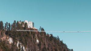 Spektakulär: die Hängebrücke Highline 179 in Tirol