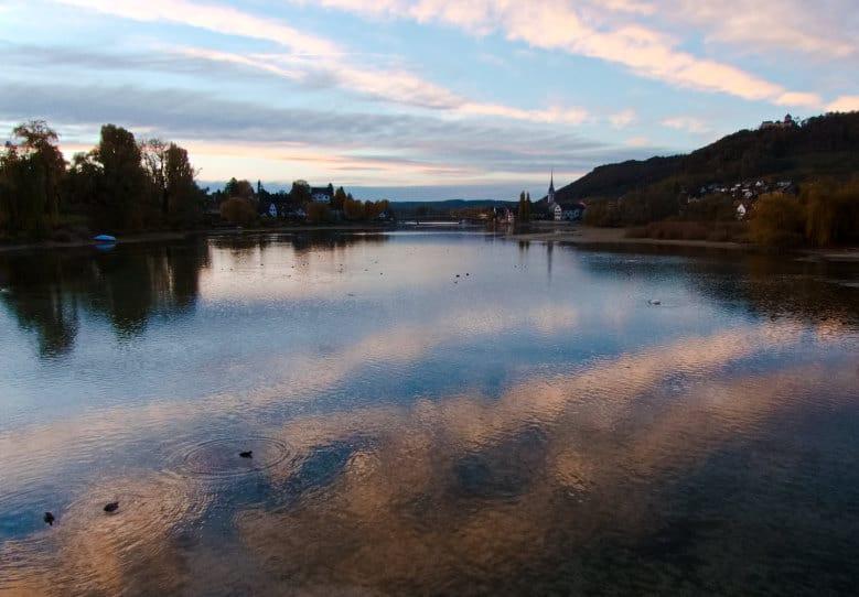 Klosterinsel Werd bei Stein am Rhein - wenn der Tag so langsam geht