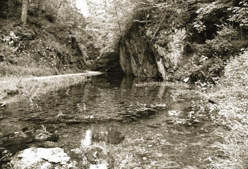 Wanderung rund um die Wimsener Höhle - das Glastal - immer entlang der Zwiefalter Ach