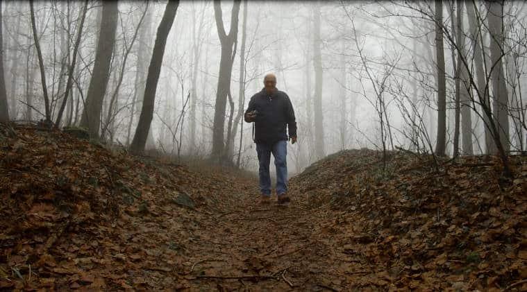 Waldbaden - die Stille im Nebel - Katzenbuckel Odenwald