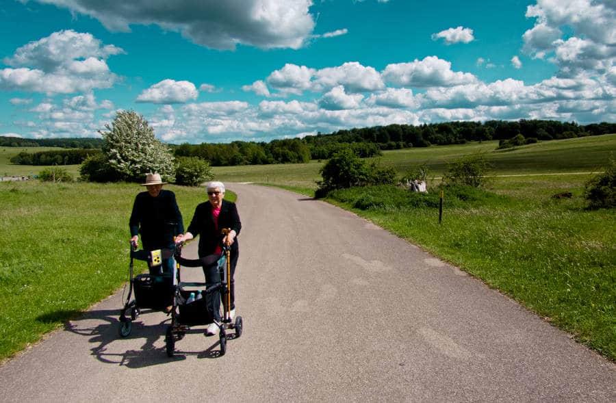 Ehemaliger Truppenübungsplatz Münsingen - auf einen Spaziergang mit meinen Eltern 1
