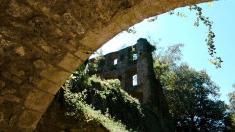 Sehenswürdigkeiten im Hegau - die Festungsruine Hohentwiel