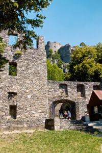 Ruine Hohentwiel - der Eingang zur Festungsruine