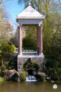 Schlosspark Donaueschingen - der Donautempel